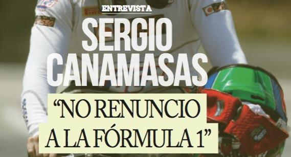 Entrevista al piloto de GP2, Sergio Canamasas, por la revista TodoRacing