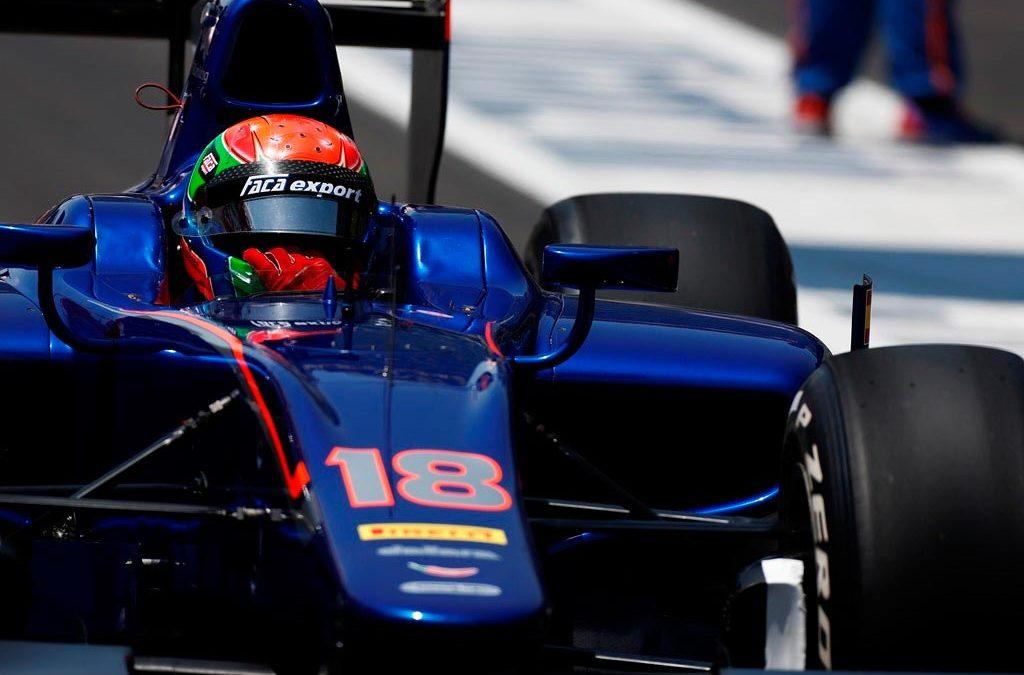 Sergio Canamasas remonta el domingo en Monza