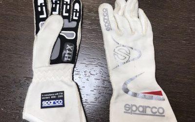 Sorteo en Twitter de unos guantes F2 de Sergio Canamasas y firmados por él.