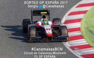 ¿Quieres venir a ver a Sergio Canamasas a Montmeló en el GP España 2017?